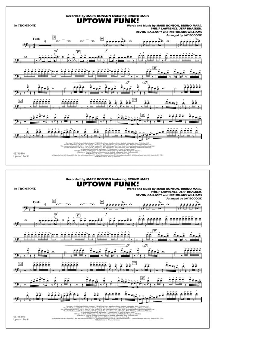 Uptown Funk! - 1st Trombone
