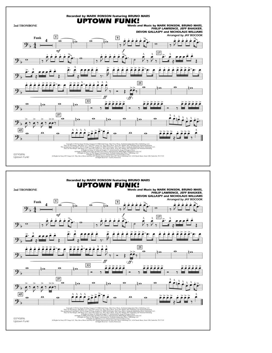 Uptown Funk! - 2nd Trombone