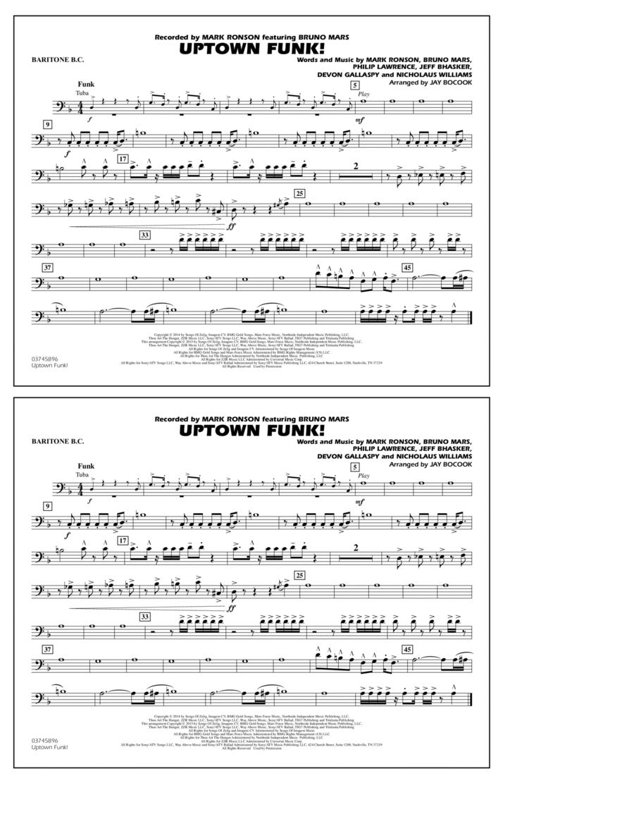 Uptown Funk! - Baritone B.C.