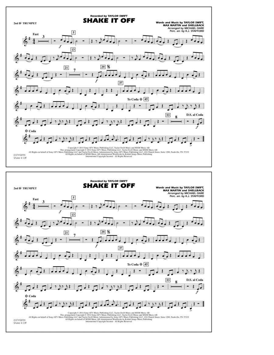 Shake It Off - 2nd Bb Trumpet