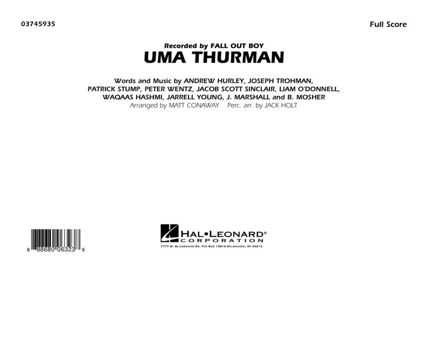 Uma Thurman - Conductor Score (Full Score)