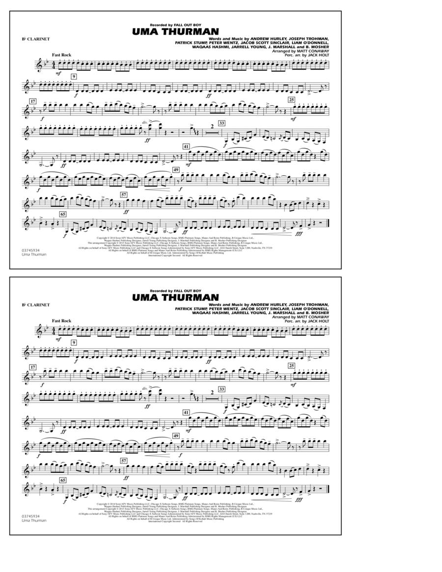 Uma Thurman - Bb Clarinet