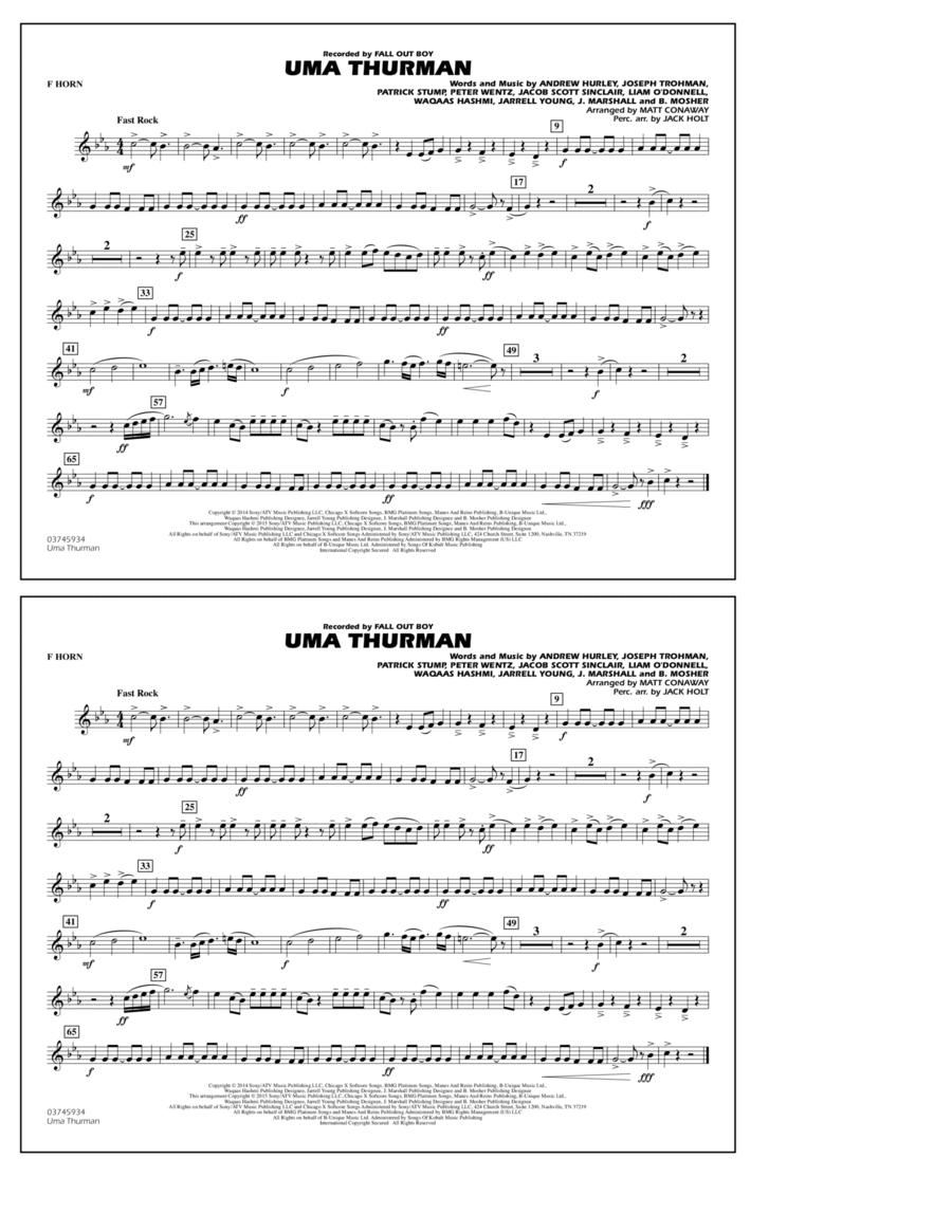 Uma Thurman - F Horn