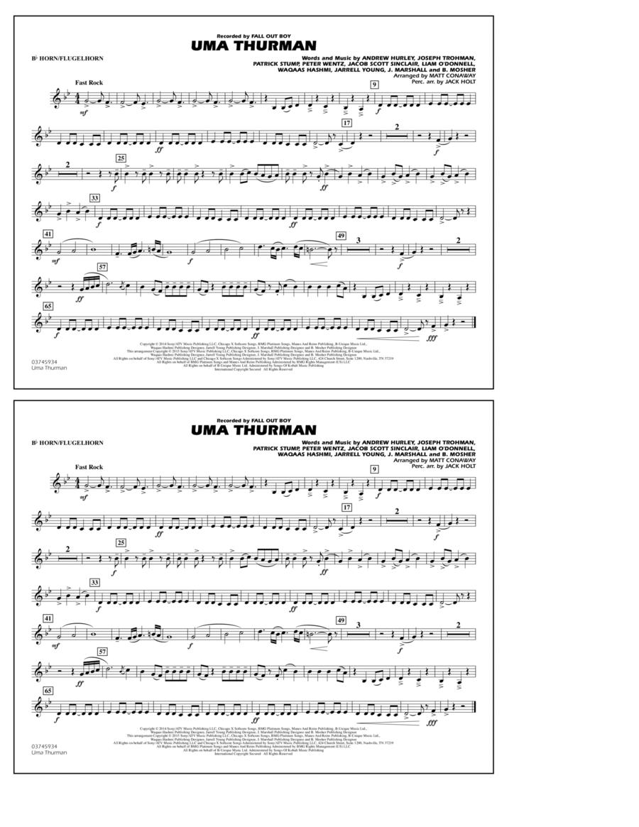 Uma Thurman - Bb Horn/Flugelhorn