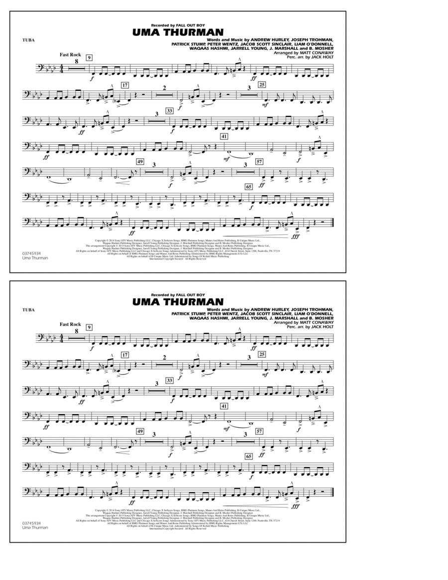Uma Thurman - Tuba