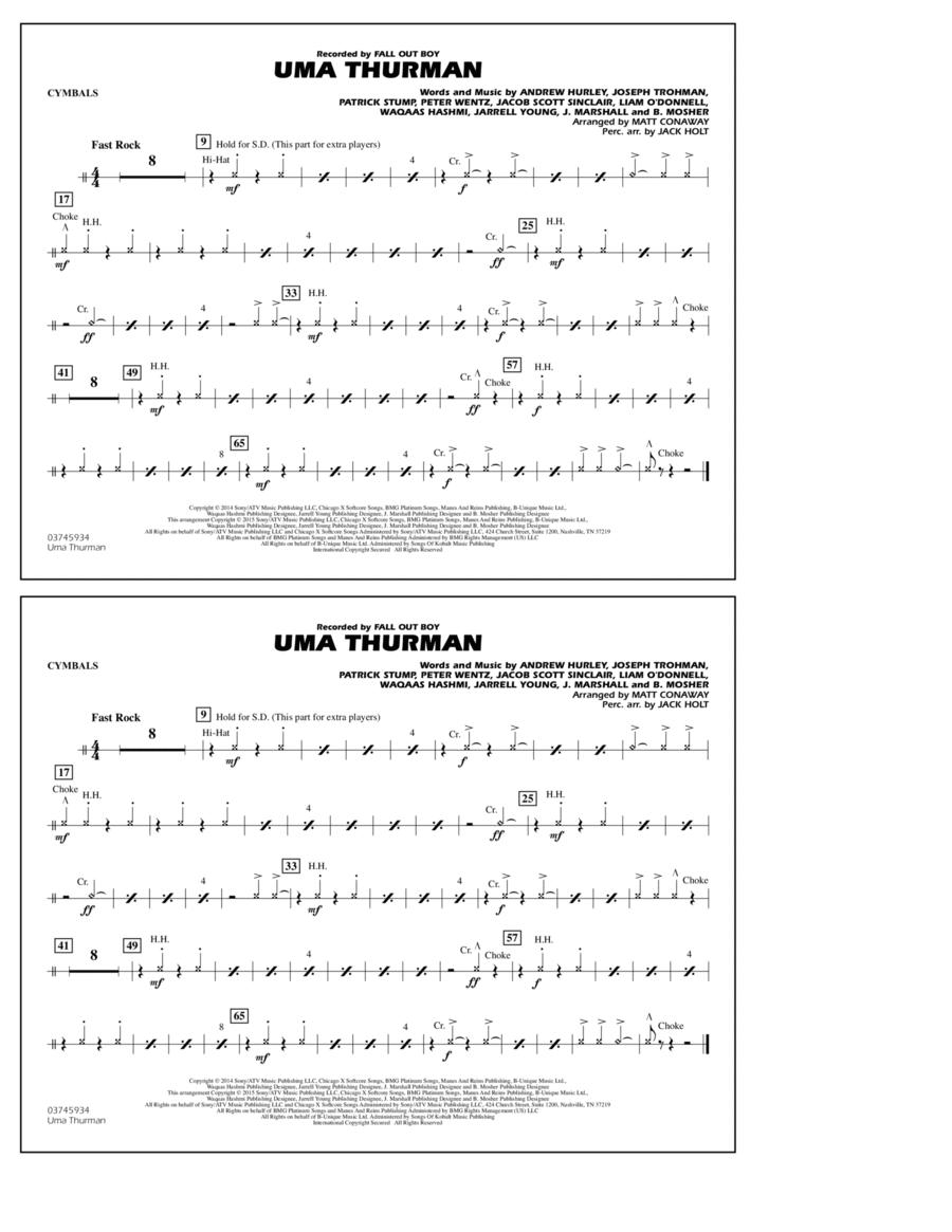 Uma Thurman - Cymbals