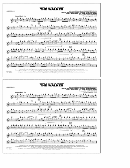 The Walker - Flute/Piccolo