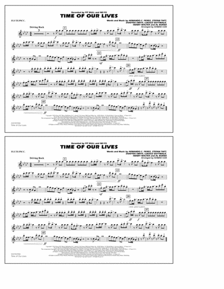 Time of Our Lives - Flute/Piccolo