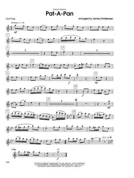 Pat-a-Pan - 2nd Flute