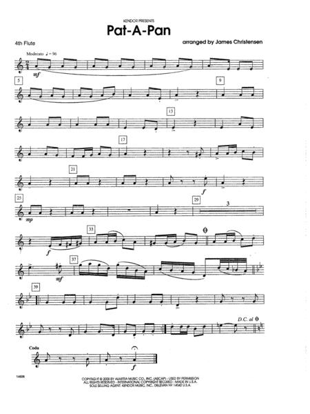 Pat-a-Pan - 4th Flute