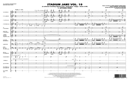 Stadium Jams Vol. 10 - Conductor Score (Full Score)