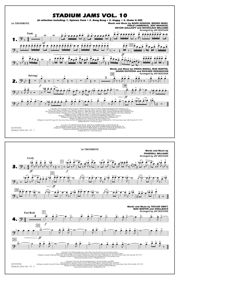 Stadium Jams Vol. 10 - 1st Trombone