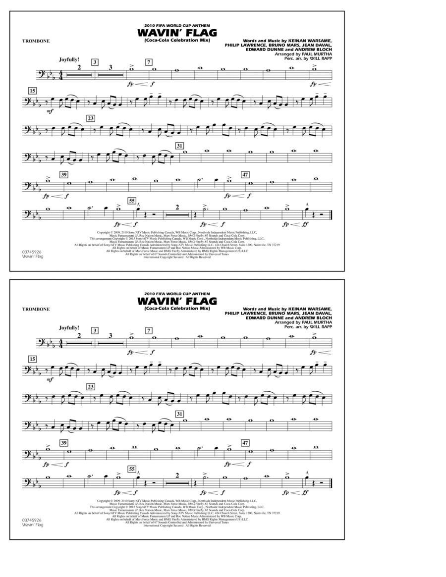 Wavin' Flag - Trombone