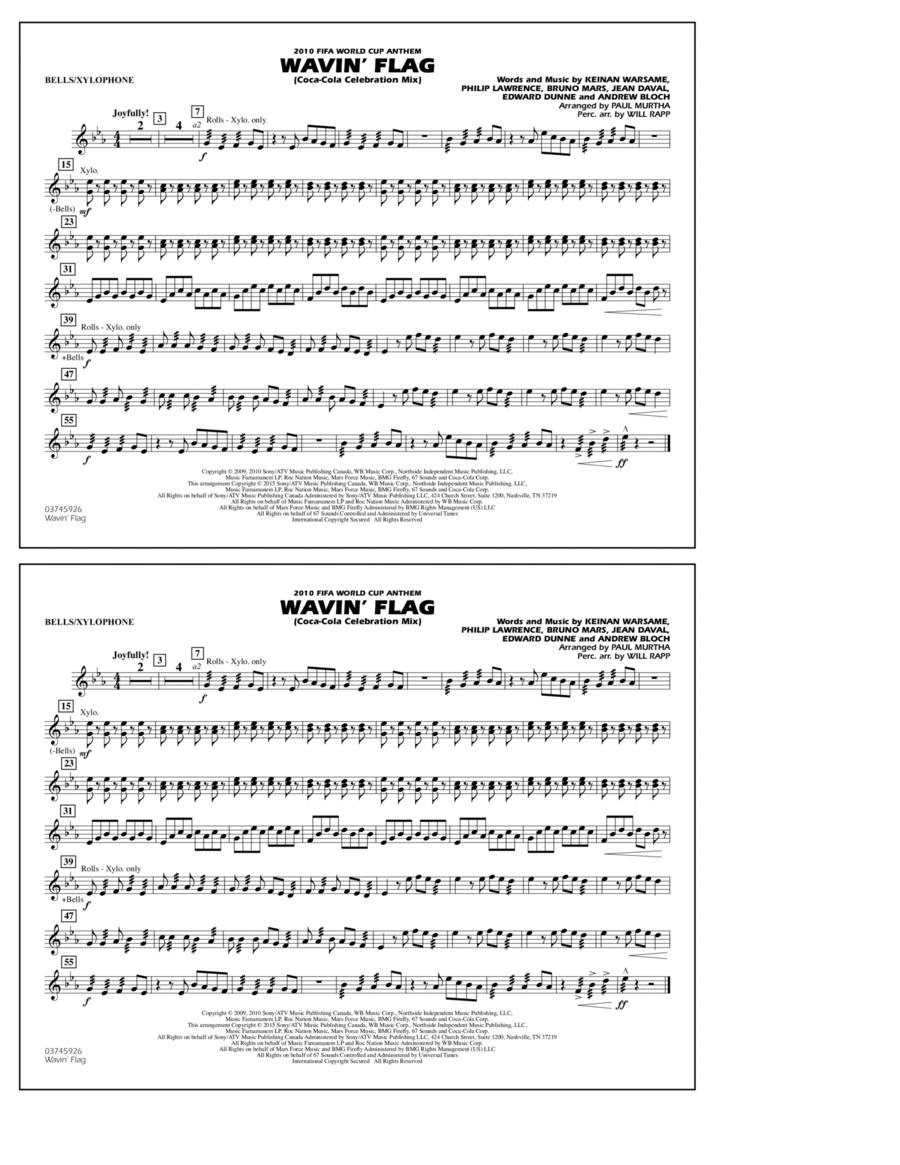 Wavin' Flag - Bells/Xylophone