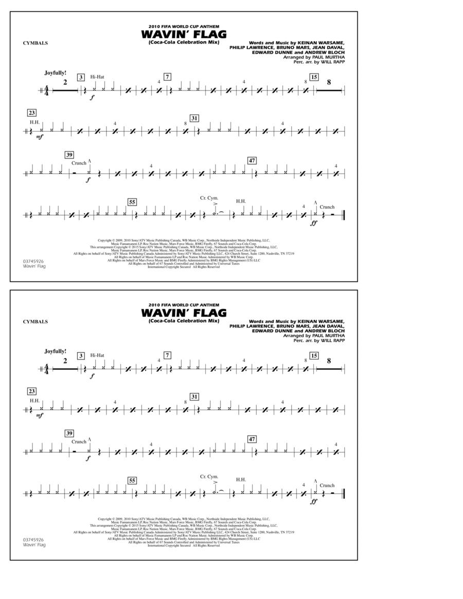 Wavin' Flag - Cymbals