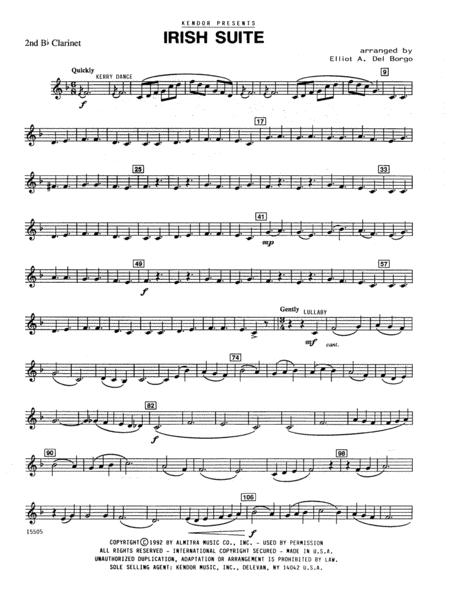 Irish Suite - 2nd Bb Clarinet