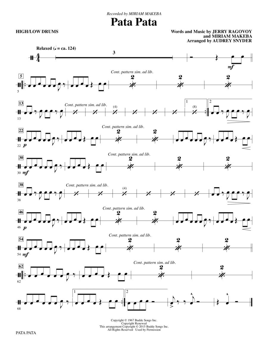 Pata Pata - Drums