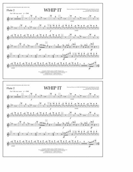 Whip It - Flute 2