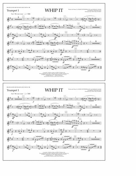 Whip It - Trumpet 1