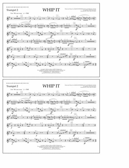 Whip It - Trumpet 2