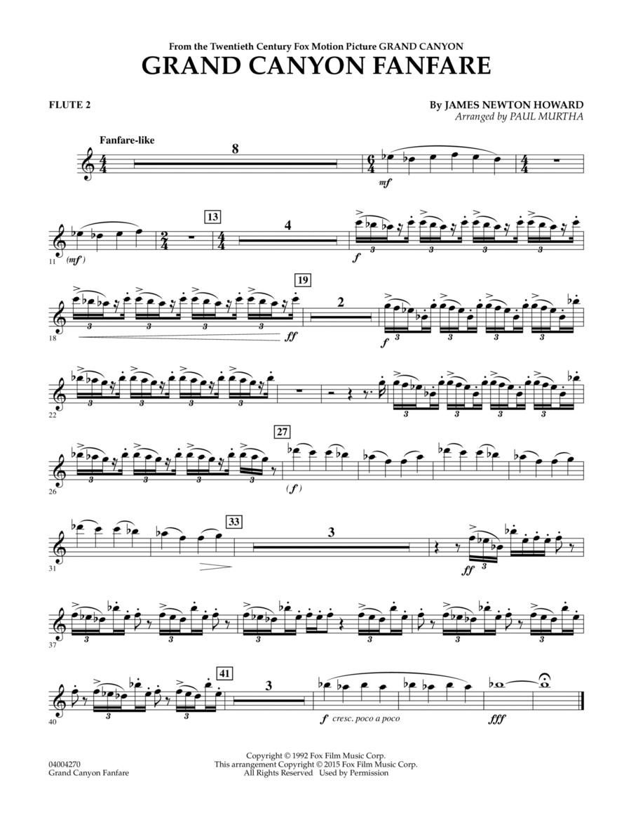 Grand Canyon Fanfare - Flute 2