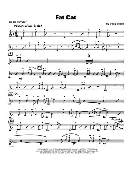 Fat Cat - Trumpet 1