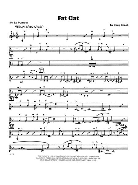 Fat Cat - Trumpet 4