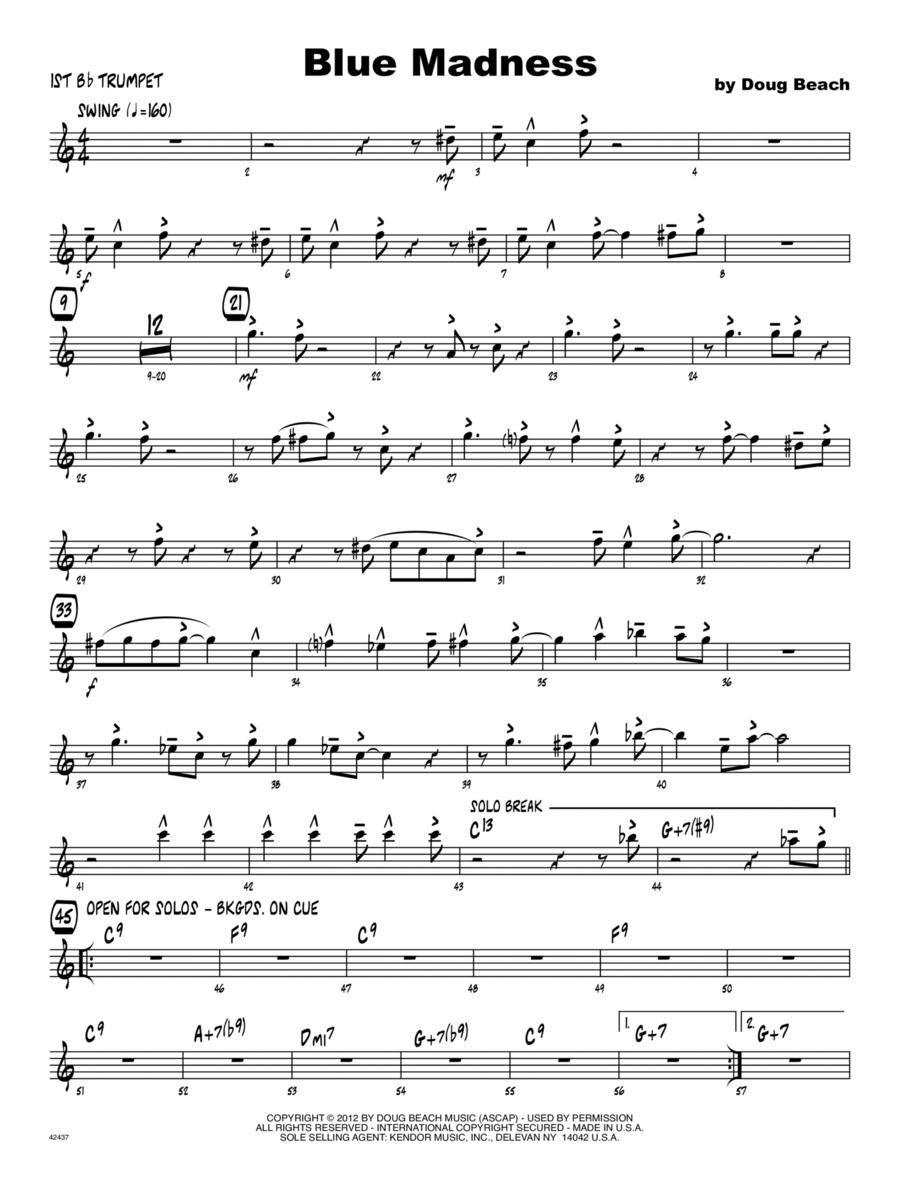 Blue Madness - Trumpet 1