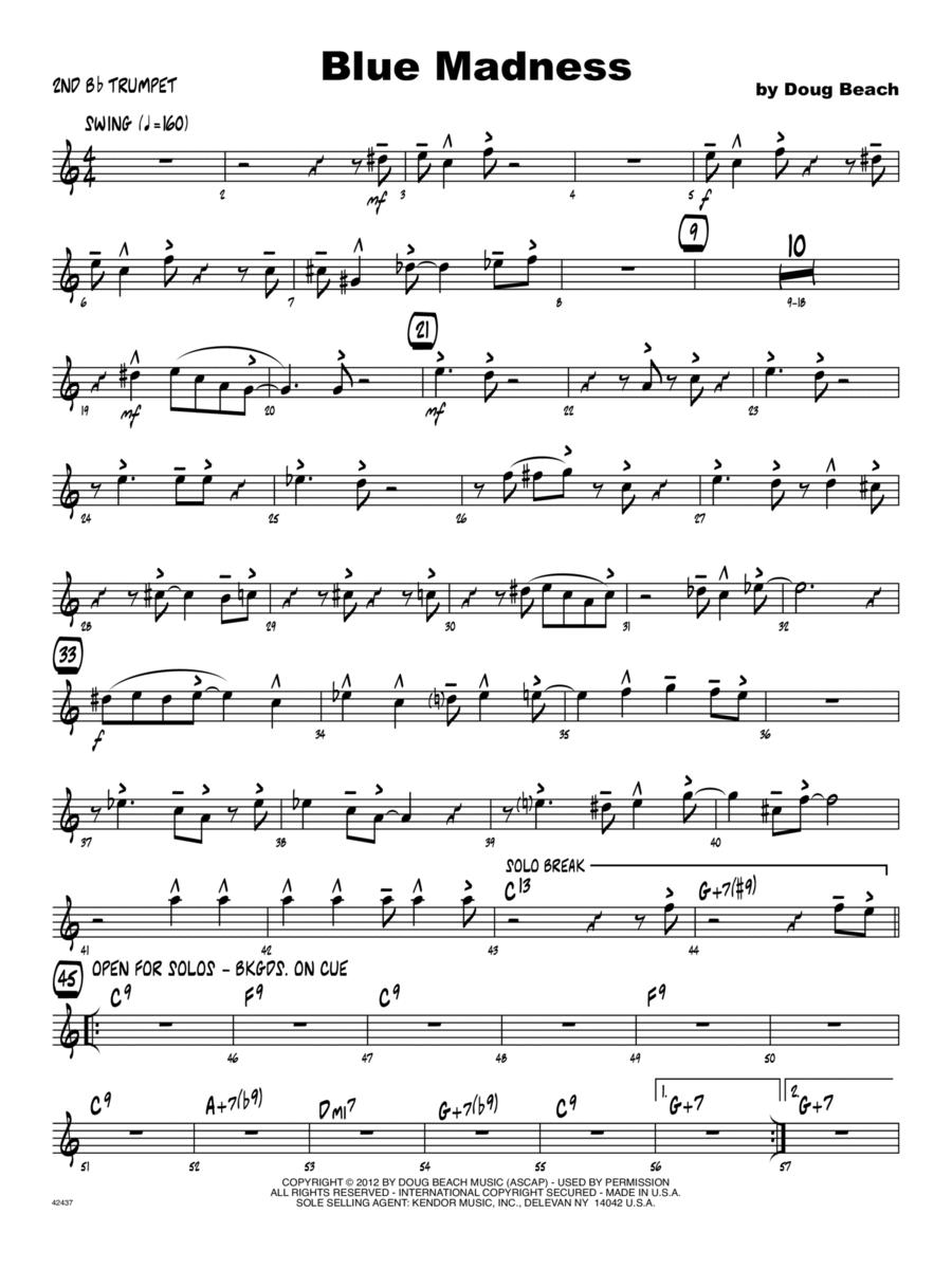 Blue Madness - Trumpet 2