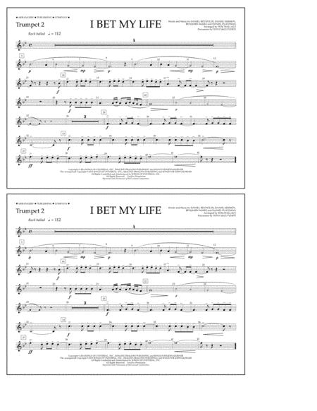 I Bet My Life - Trumpet 2