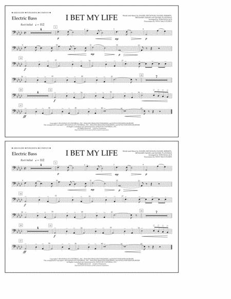 I Bet My Life - Electric Bass