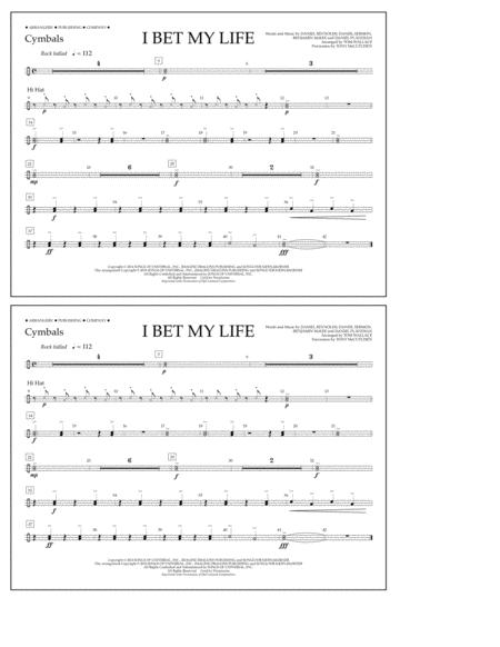 I Bet My Life - Cymbals