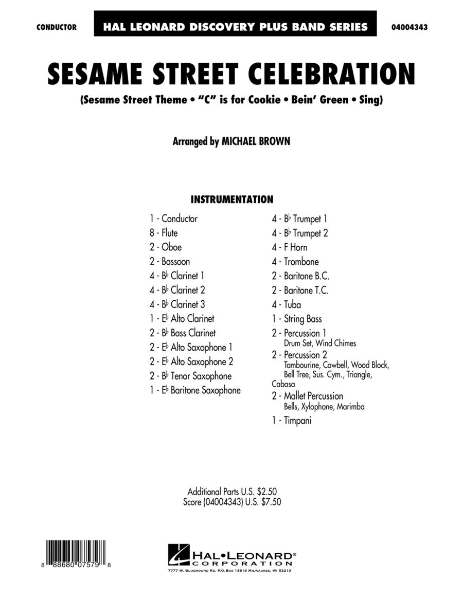 Sesame Street Celebration - Conductor Score (Full Score)