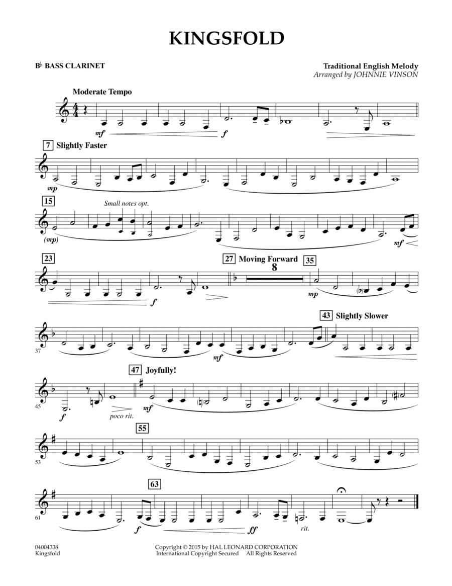 Kingsfold - Bb Bass Clarinet