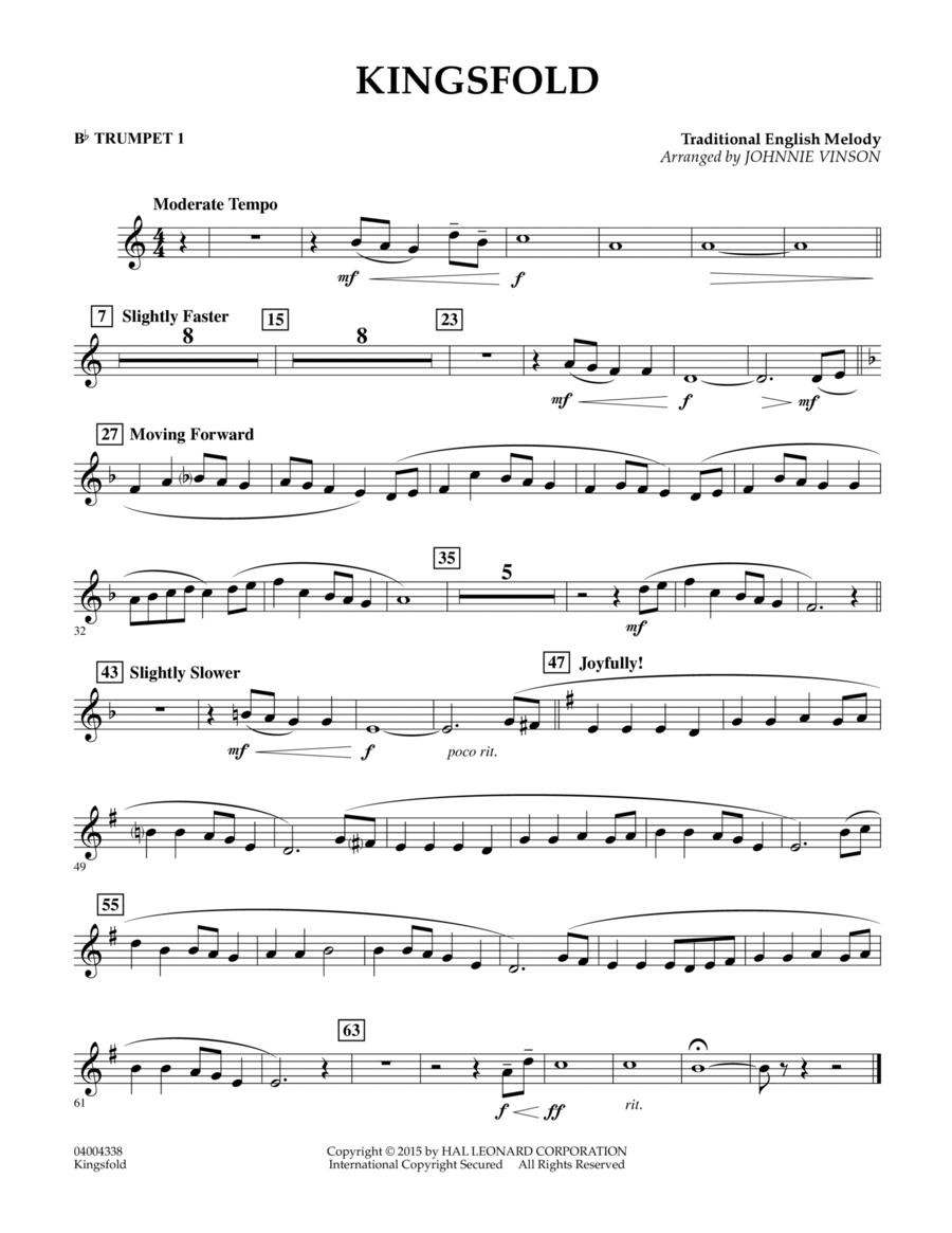 Kingsfold - Bb Trumpet 1