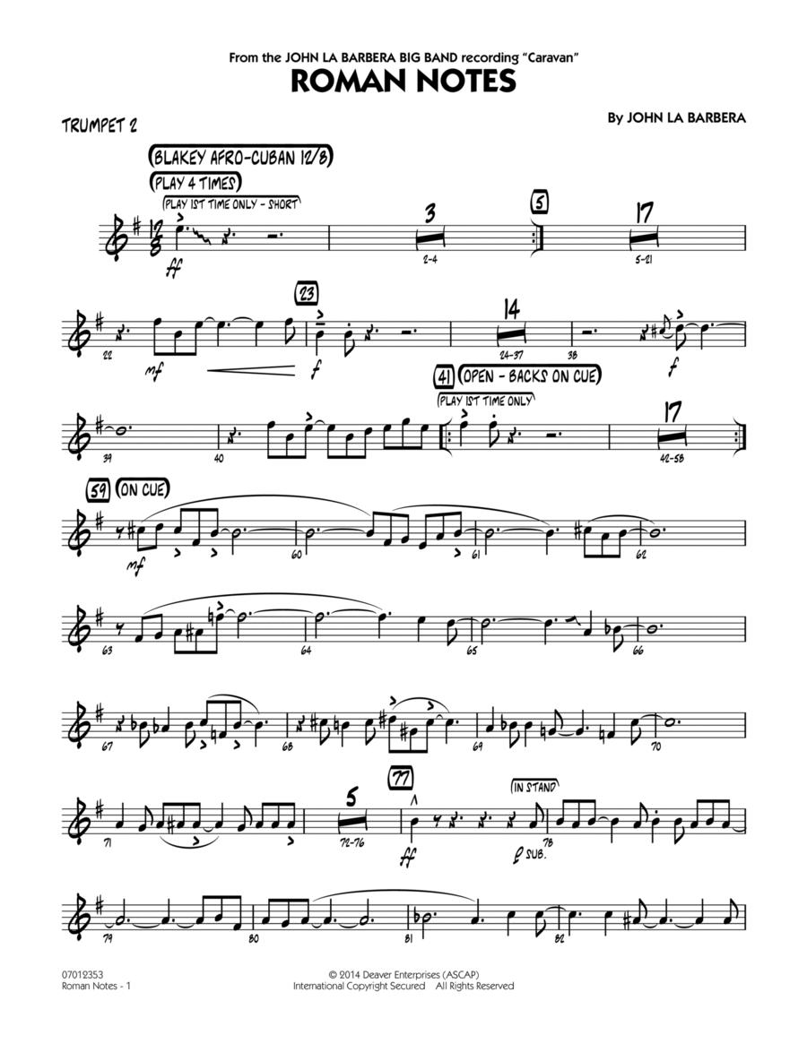 Roman Notes - Trumpet 2