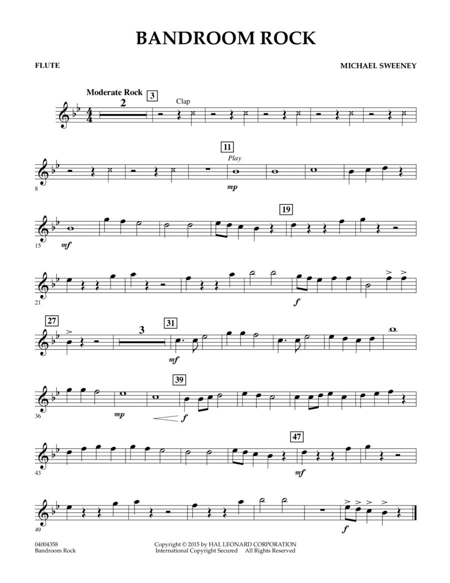 Bandroom Rock - Flute