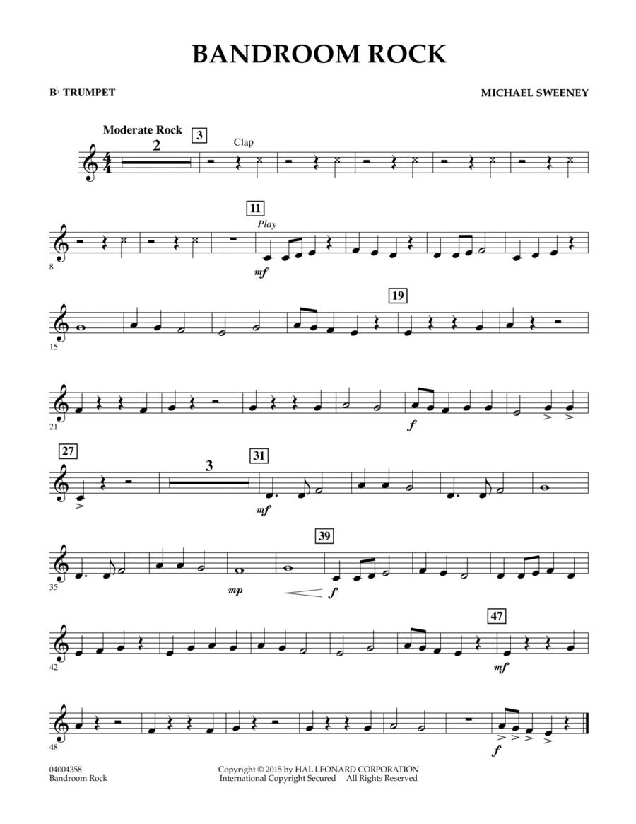 Bandroom Rock - Bb Trumpet