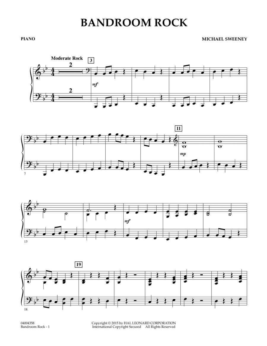 Bandroom Rock - Piano