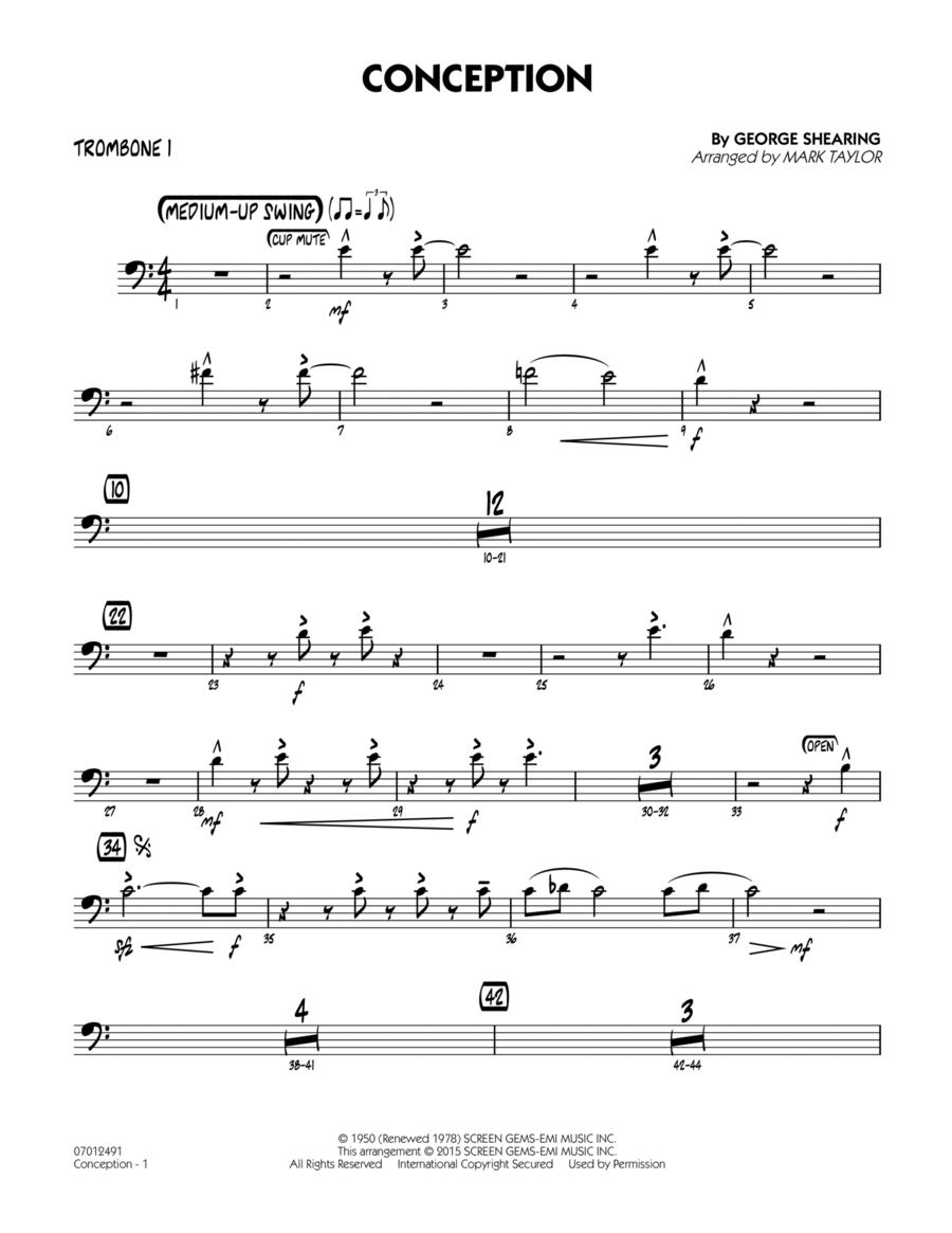 Conception - Trombone 1