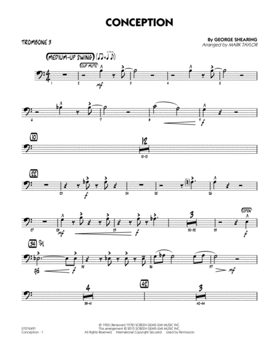 Conception - Trombone 3