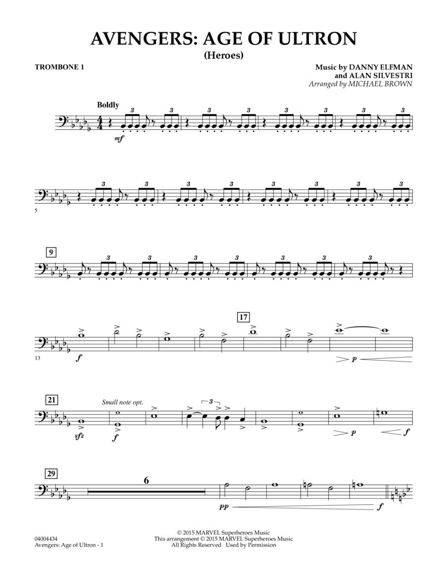 Avengers: The Age of Ultron (Main Theme) - Trombone 1