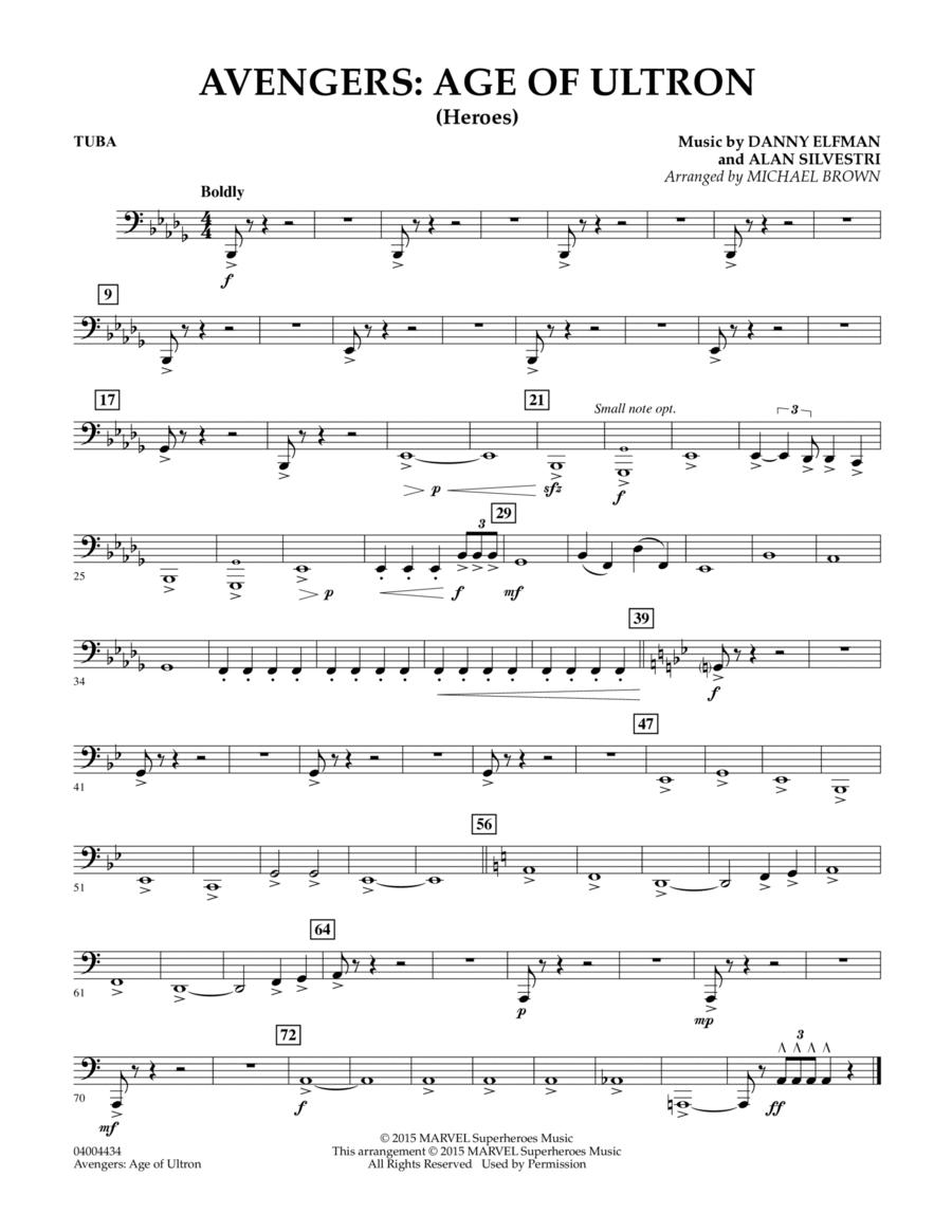 Avengers: The Age of Ultron (Main Theme) - Tuba