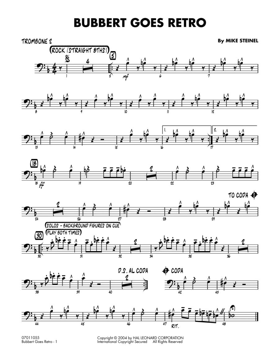 Bubbert Goes Retro - Trombone 2