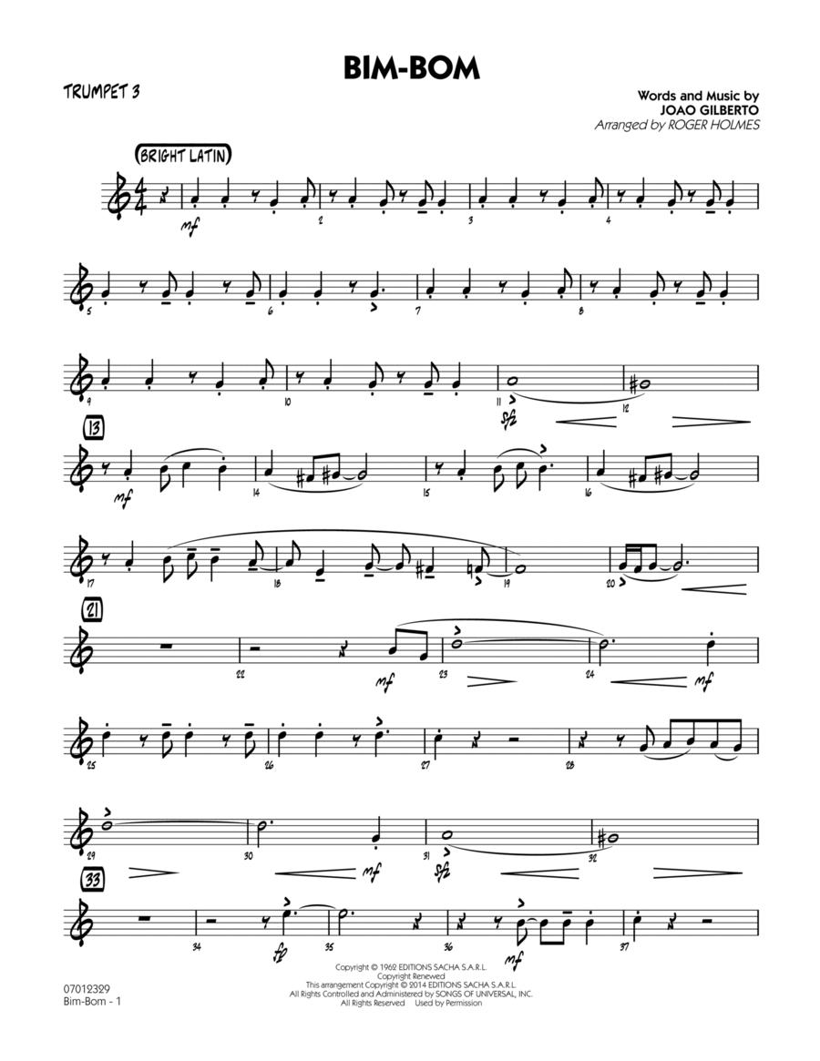 Bim-Bom - Trumpet 3