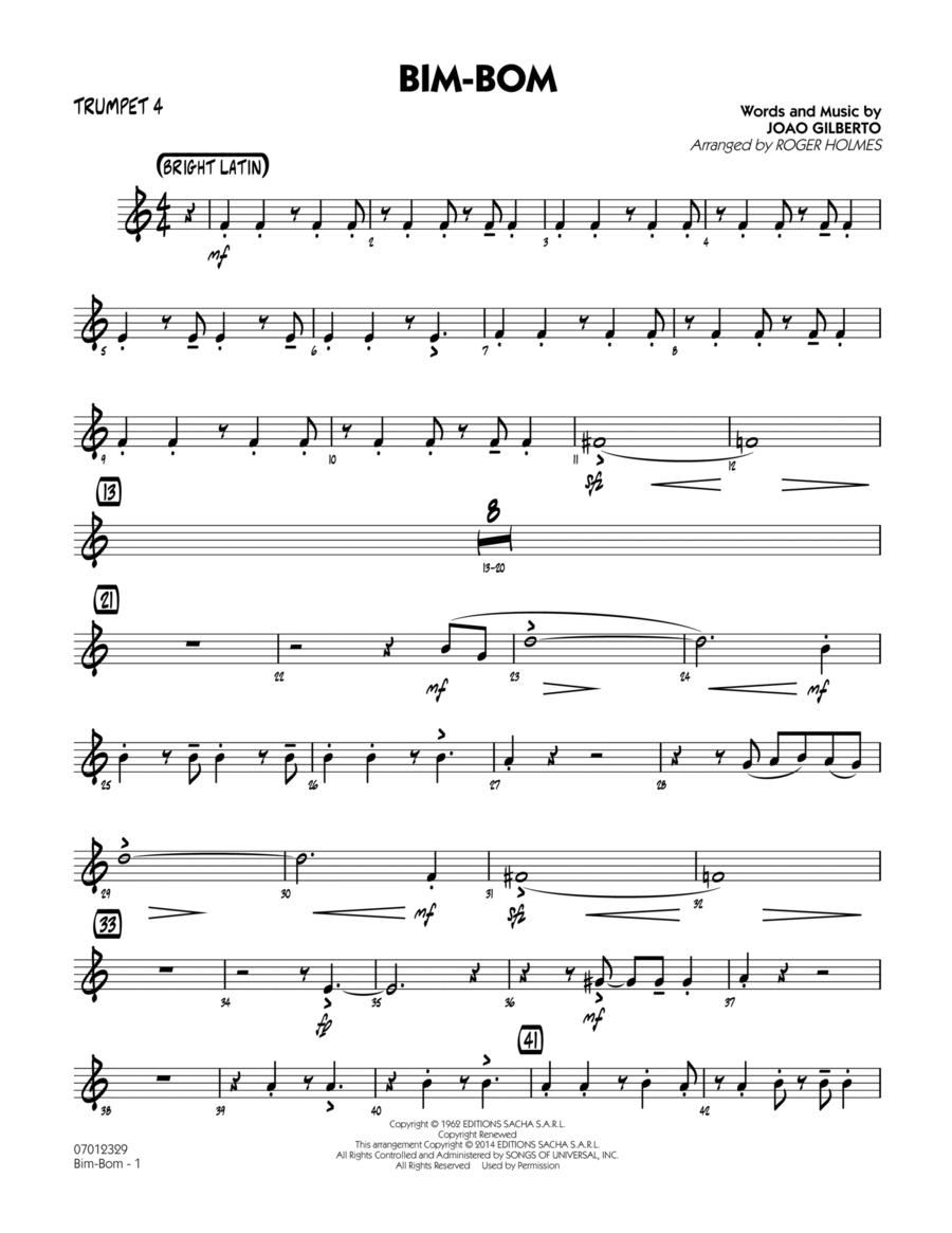 Bim-Bom - Trumpet 4