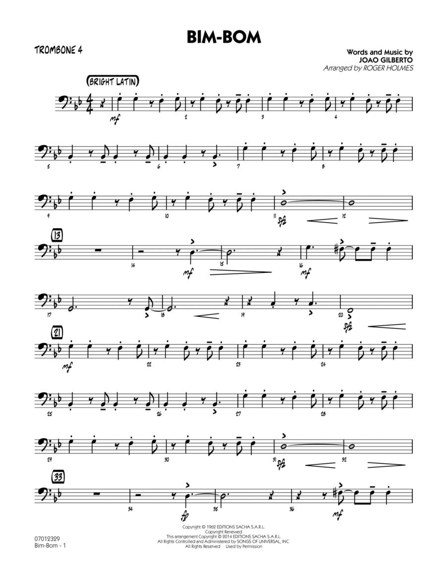 Bim-Bom - Trombone 4