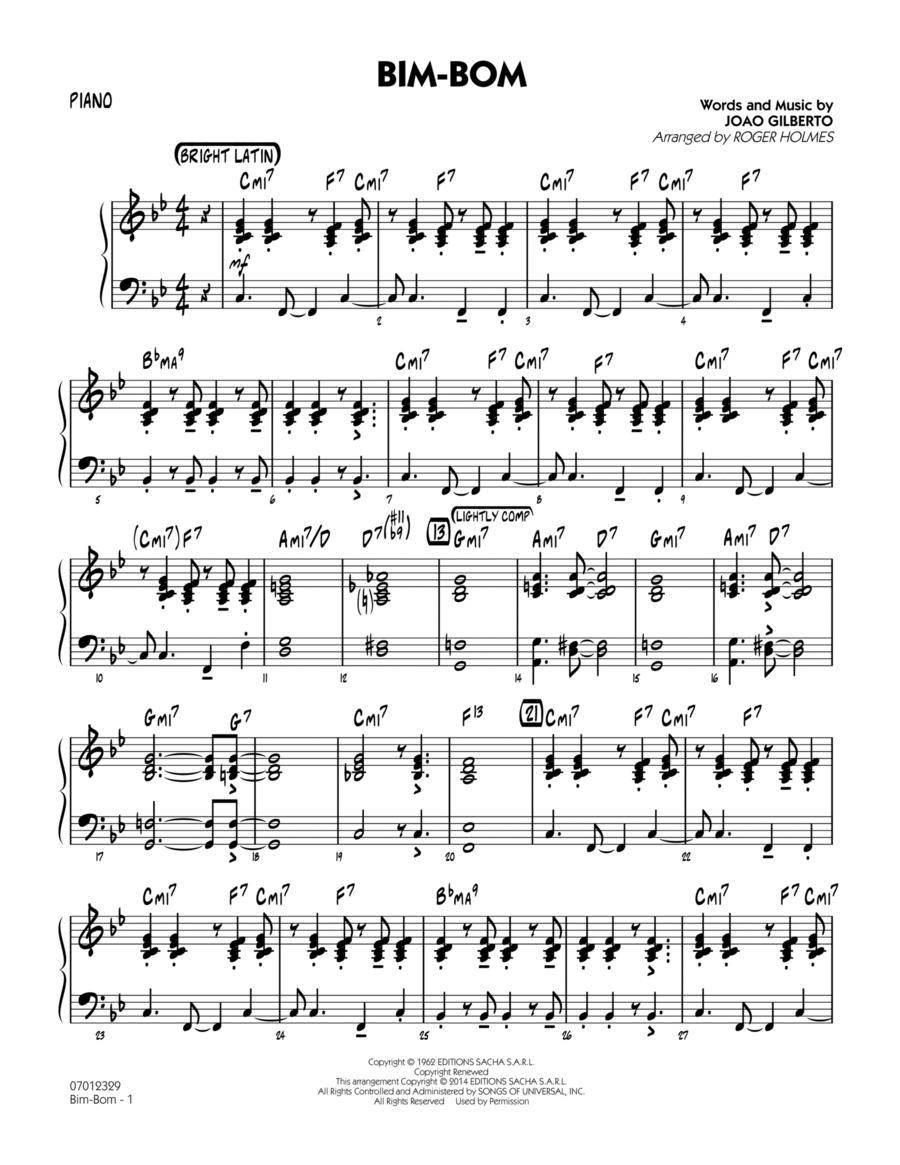 Bim-Bom - Piano