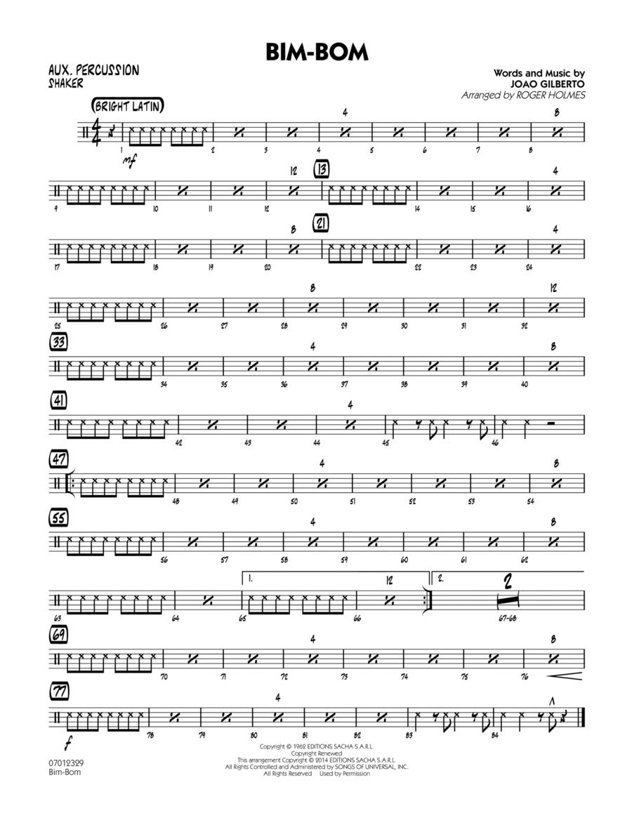 Bim-Bom - Aux Percussion