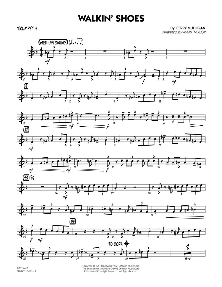 Walkin' Shoes - Trumpet 2